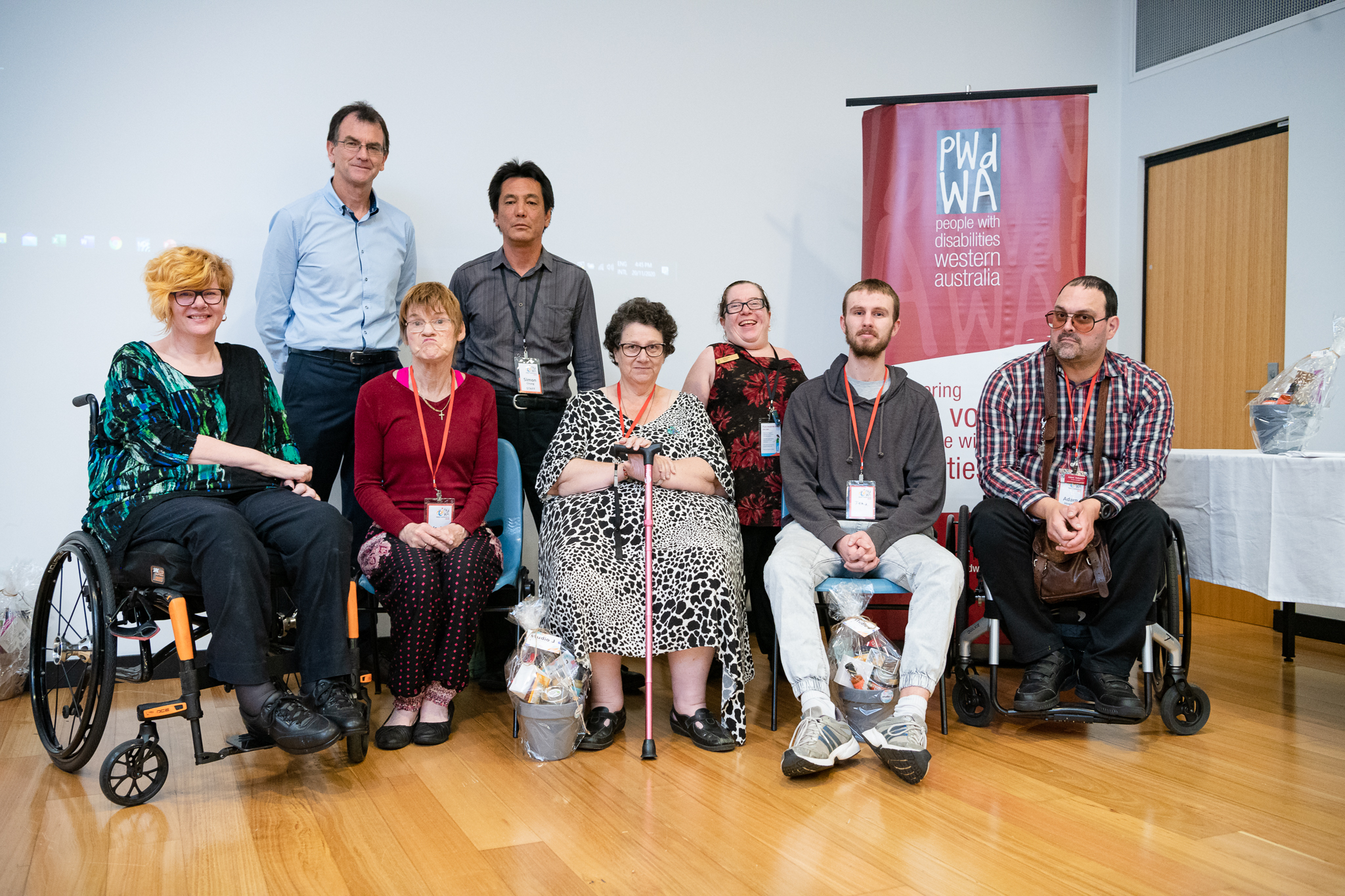 A photo of the Conference Reference Group members